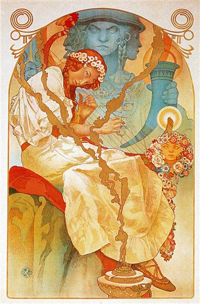 The Slav Epic, Alphonse Mucha