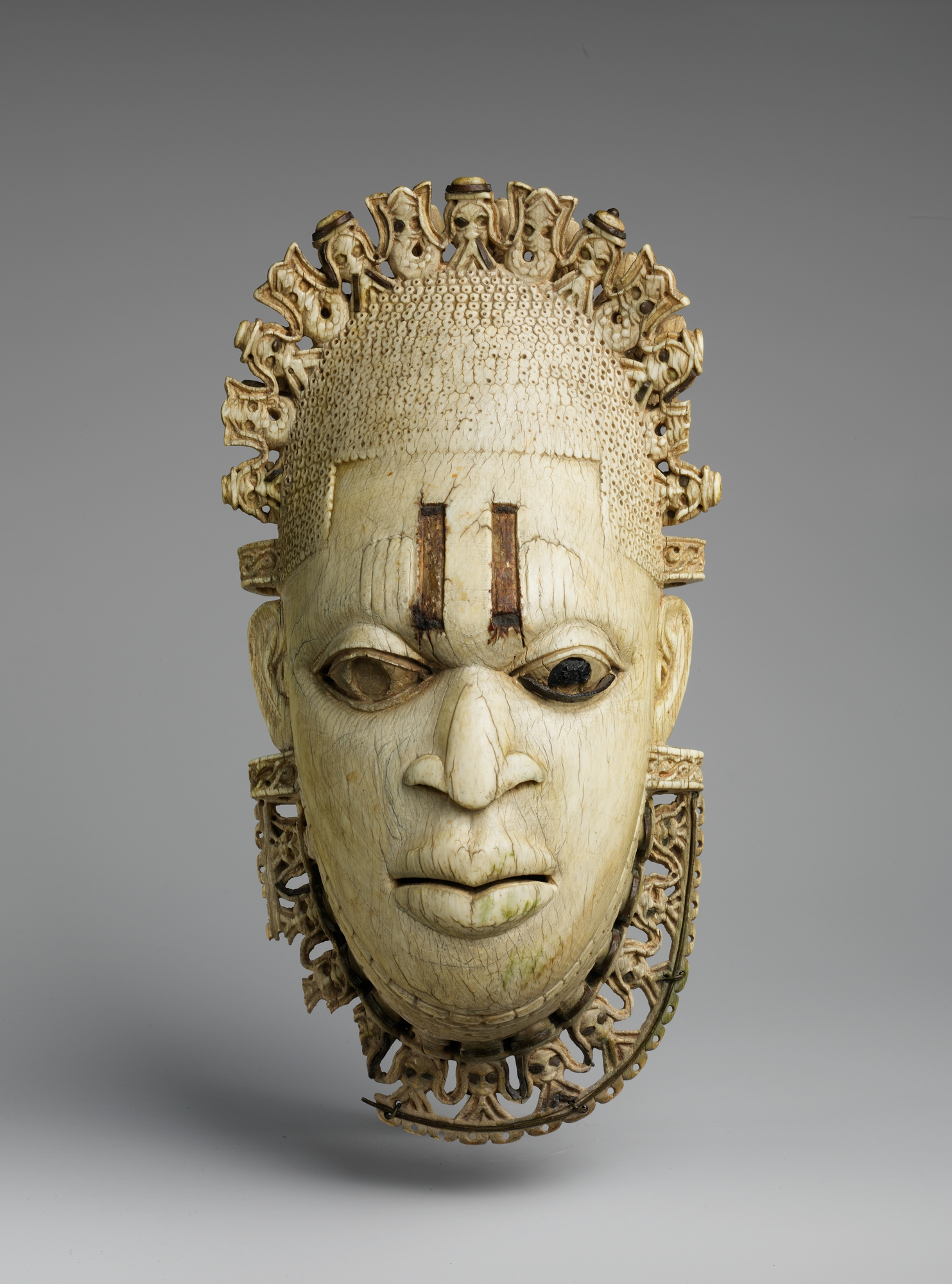 Queen Mother Pendant Mask: Iyoba Edo Peoples of Nigeria, 16th Century