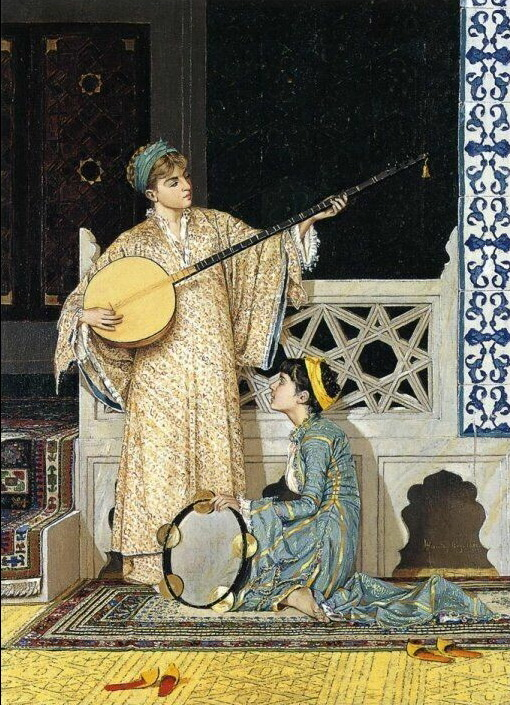 The Musician Girl, Osman Hamdi