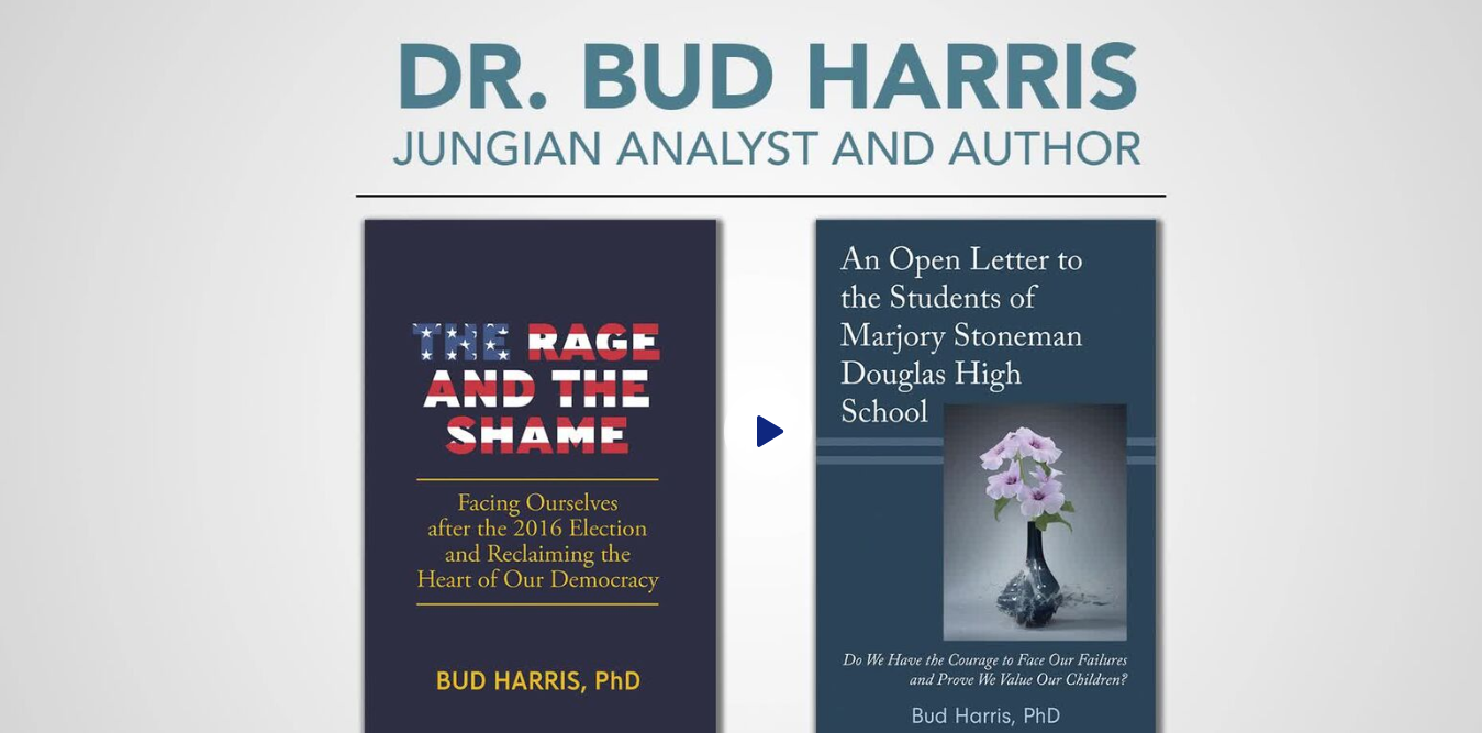 Zurich-trained Jungian analyst and author Dr. Bud Harris presents two books