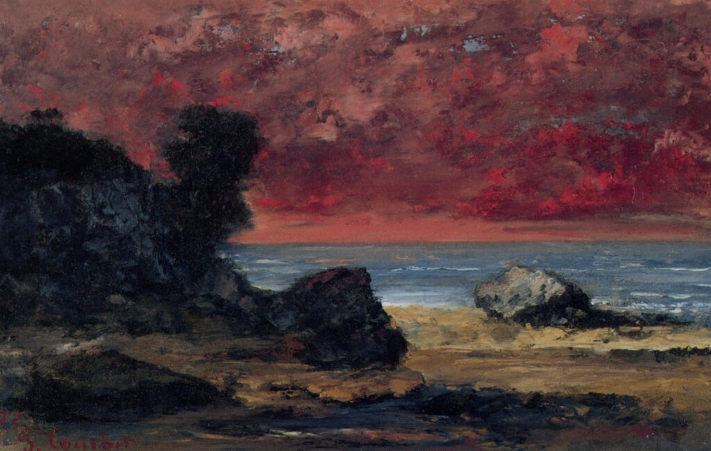 After the Storm, Gustave Courbet