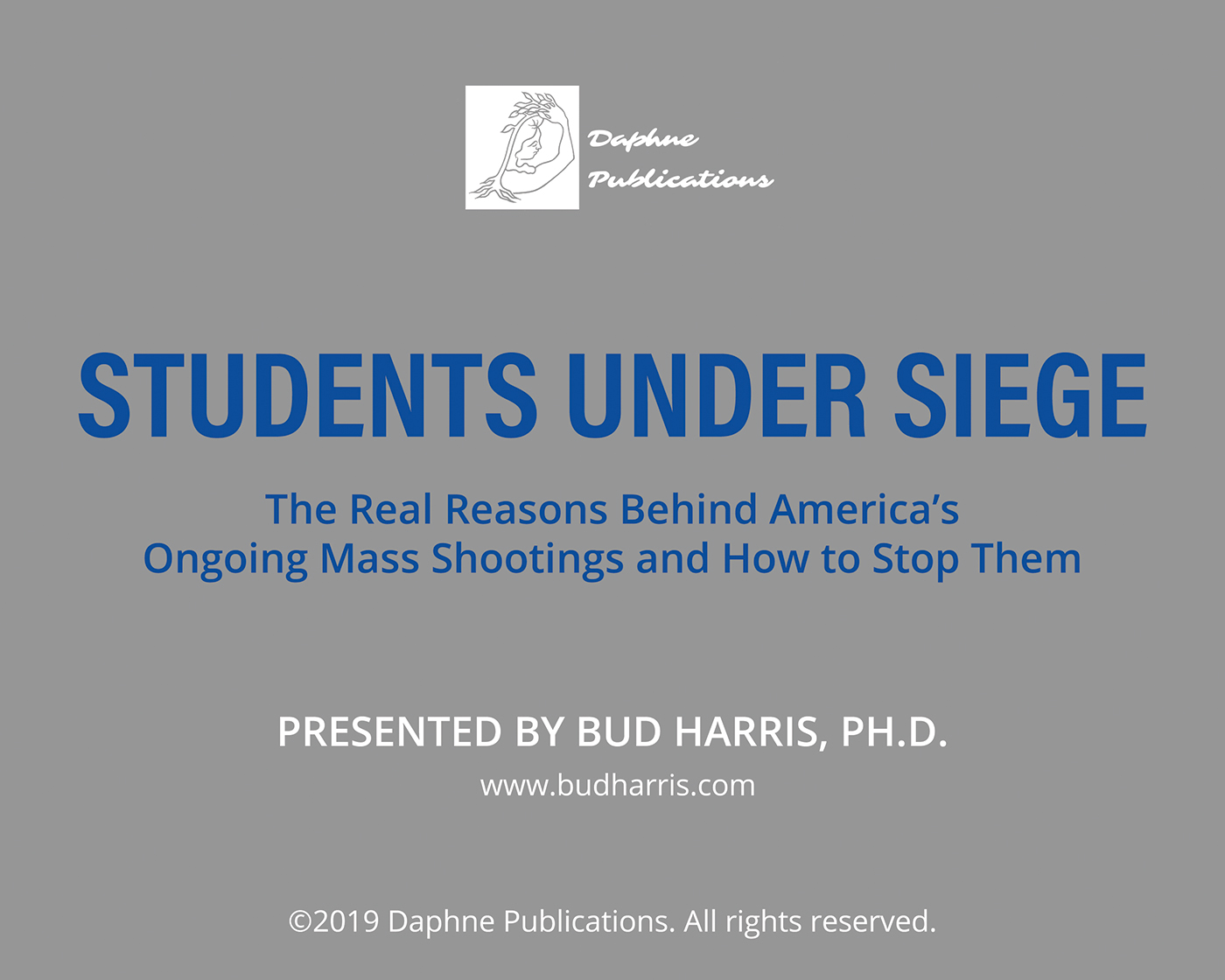 Students Under Siege video lecture