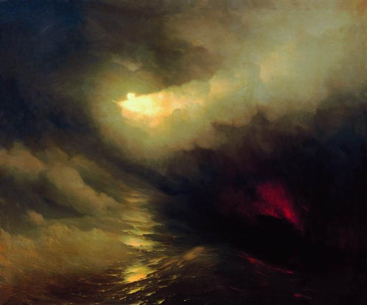 Creation of the World, Ivan Aivazovsky