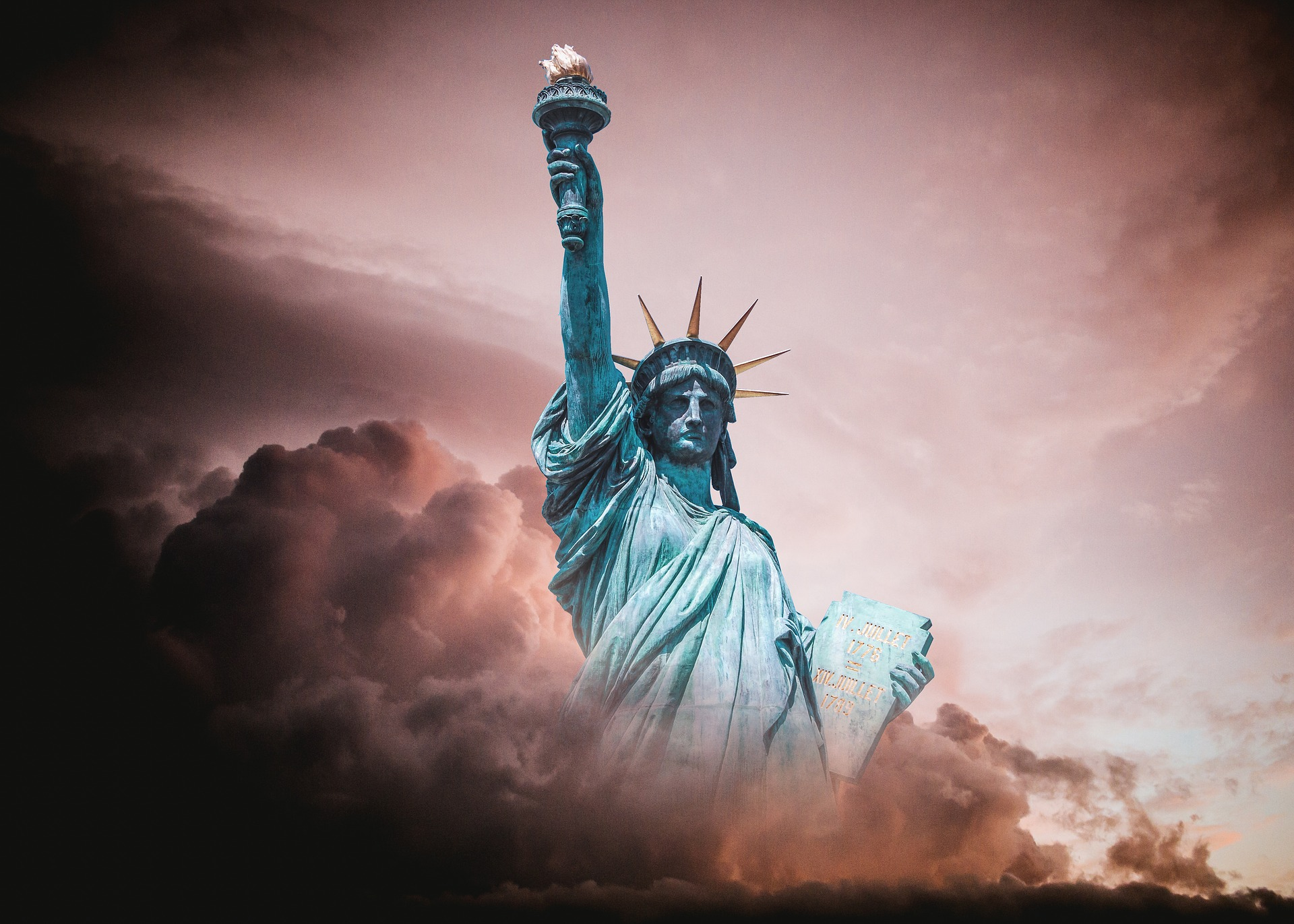 The Statue of Liberty, by ParentRap on Pixabay
