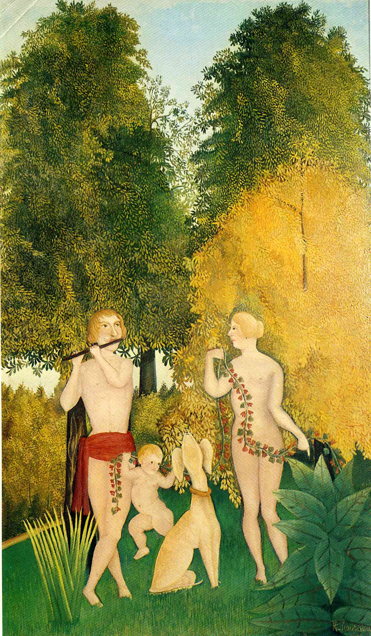 The Happy Quartet, Henri Rousseau