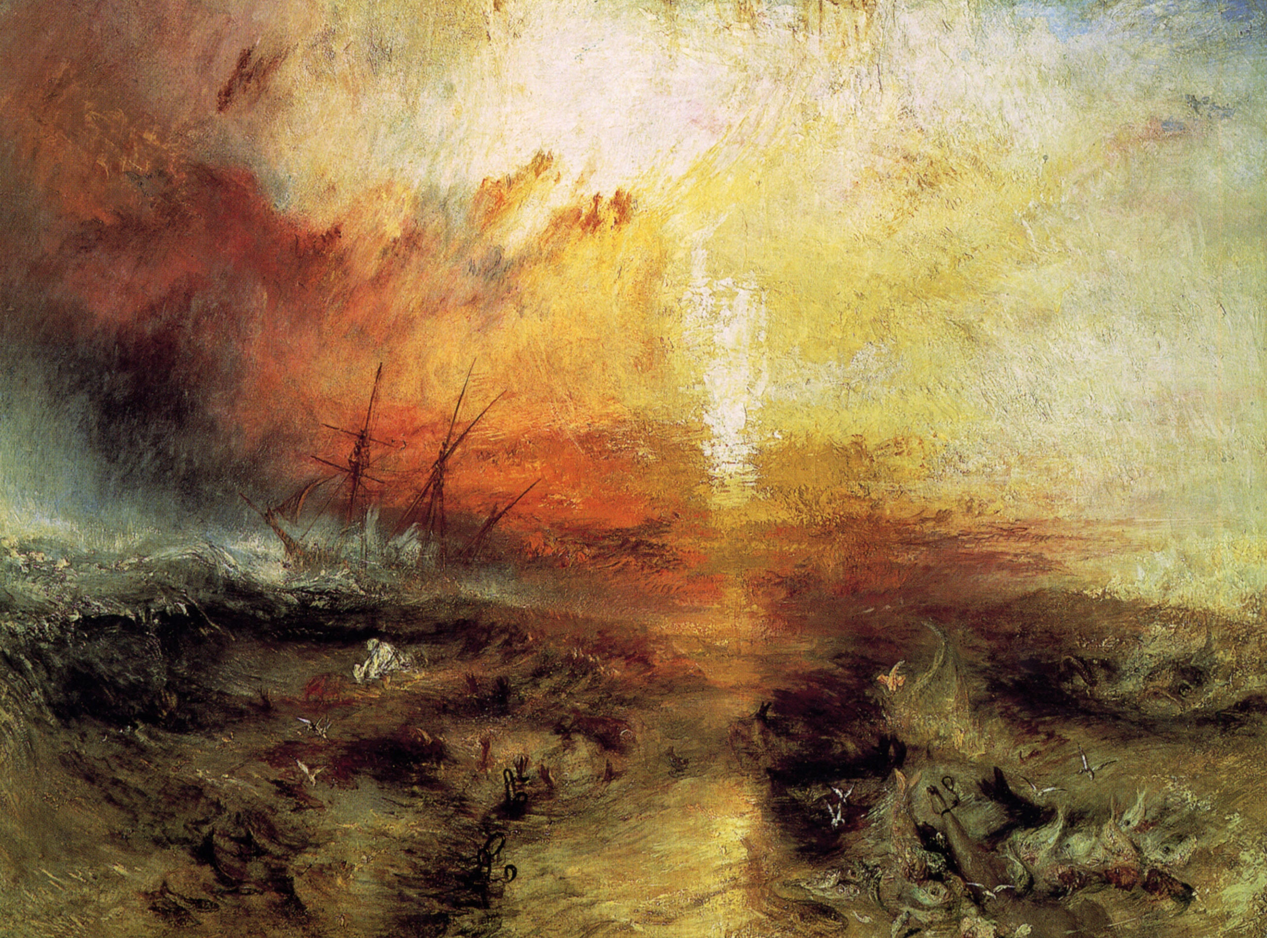 The Slave Ship, William Turner