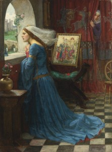 Fair Rosamund, John William Waterhouse