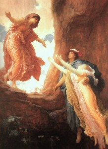 The Return of Perspephone, painting by Frederic Leighton