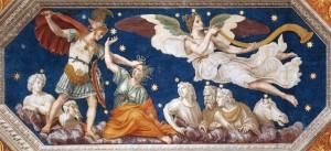 Perseus and Pegasus,  Baldassare Peruzzi